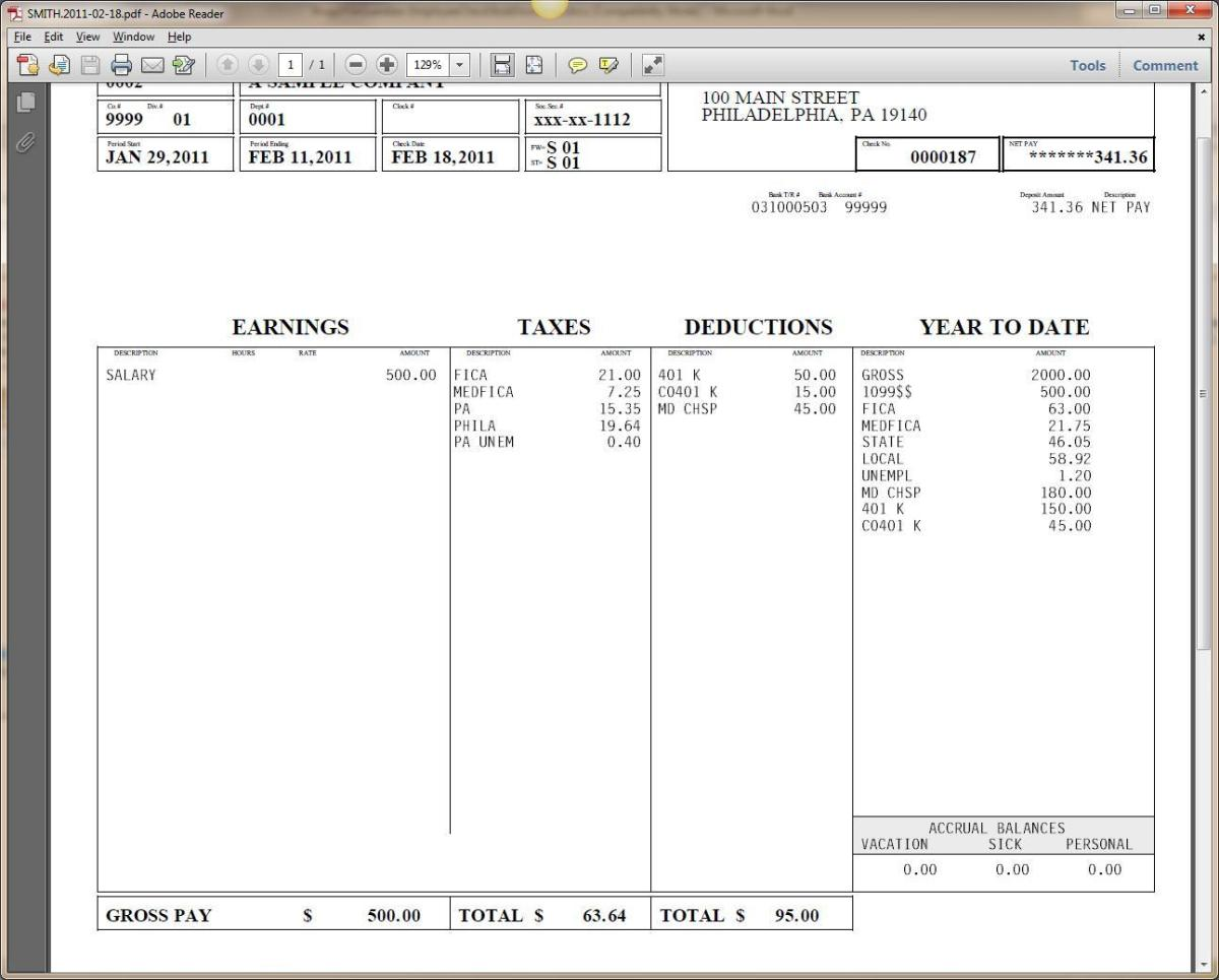 the positives of using a free pay stub template  u2013 business